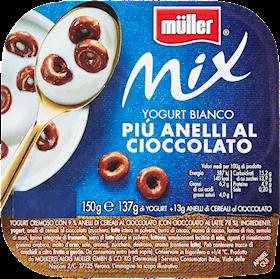 MULLER MIX ANELLI AL CIOCCOLATO GR 15
