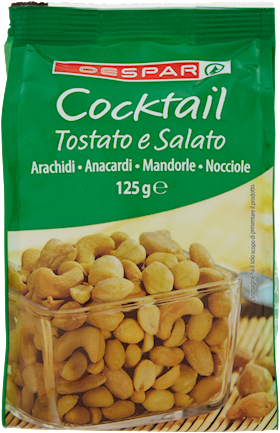 COCKTAIL DESPAR 125G TOSTATO E SALATO