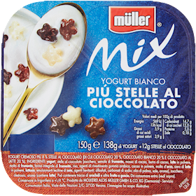 MULLER MIX BIANCO PIU STELLE AL CIOCCO